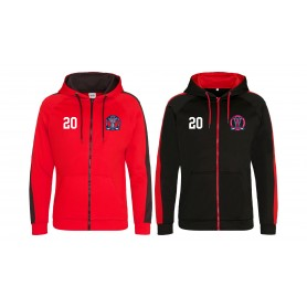 Invicta Junior Ice Hockey Club - Embroidered Sports Performance Zip Hoodie