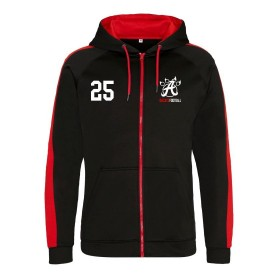 Aberdeen Oilcats - Embroidered Sports Performance Zip Hoodie