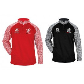 Birmingham Bulls - Customised Embroidered Tonal Blend Sport 1/4 Zip
