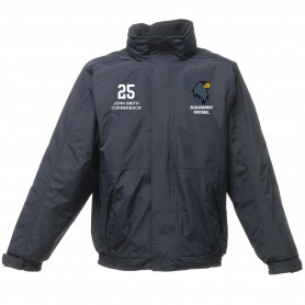 Newcastle Blackhawks - Embroidered Heavyweight Dover Rain Jacket