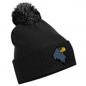 Newcastle Blackhawks - Embroidered Bobble Hat
