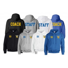Limerick Vikings - Print and Embroidered Coach or Staff Hoodie