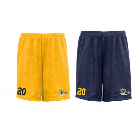 UEA Pirates - Embroidered Mesh Shorts