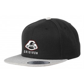 Gridiron - Embroidered 2 Tone Snapback