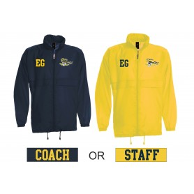 UEA PIrates - Customised or Non Customised Embroidered Light Weight Rain Jacket