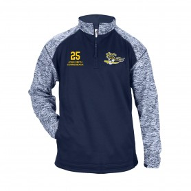 UEA PIrates - Custom Embroidered Tonal Blend Sport 1/4 Zip