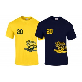 UEA PIrates - Custom Side Logo T-Shirt