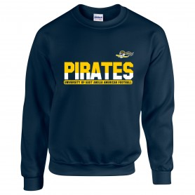 UEA PIrates - Athletic Split Text Logo Sweatshirt