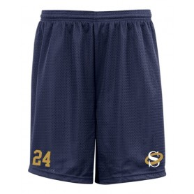 Oxford Saints - Embroidered Mesh Shorts