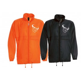 Lincolnshire Longhorns - Embroidered Lightweight College Rain Jacket