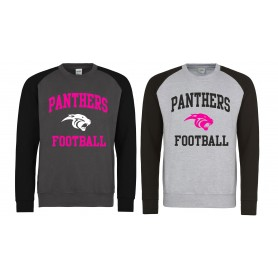 Oxford Brookes Panthers - Printed Baseball Sweat Shirt