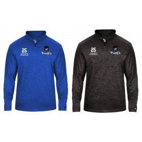 Sovona Pirates - Customised Embroidered Tonal Blend Sport 1/4 Zip