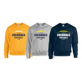 Lincoln Colonials - Laces Logo Sweat Shirt