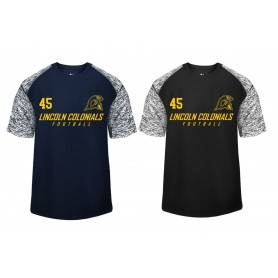 Lincoln Colonials - Printed Blend Performance T Shirt