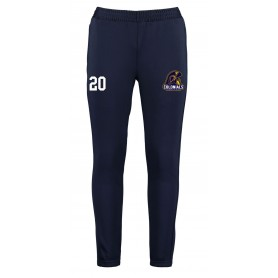 Lincoln Colonials - Customised Embroidered Zipped Pocketed Slim Fit Track Bottoms