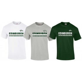 Edinburgh Predators - Edinburgh Athletic Split Text Logo T Shirt