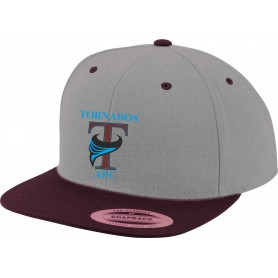 Burnley Tornados - Embroidered Two Tone Snapback Cap
