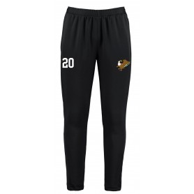 Leeds Gryphons - Customised Embroidered Zipped Pocketed Slim Fit Track Trousers