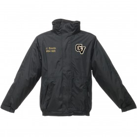 Clyde Valley Hawks - Embroidered Heavyweight Dover Rain Jacket