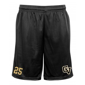 Clyde Valley Hawks - Embroidered Pocketed Mesh Shorts