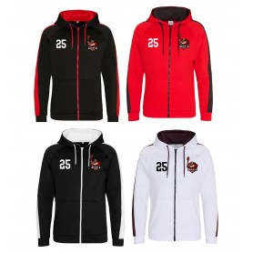 North East Giants - Embroidered Sports Performance Zip Hoodie