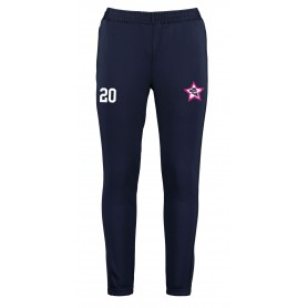 Trent Renegades - Customised Embroidered Zipped Pocketed Slim Fit Track Trousers
