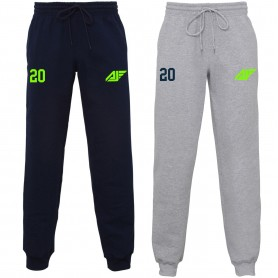 Antrim Jets - Embroidered Cuff Bottom Joggers