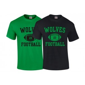 Ware Wolves - Ball Logo T-Shirt 1