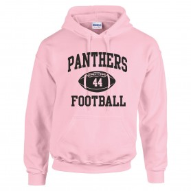 Oxford Brookes Panthers - Custom Ball Logo 1 Hoodie