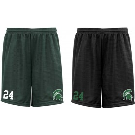 Shape Spartans - Custom Embroidered Mesh Shorts
