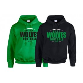 Ware Wolves - Laces Logo Hoodie