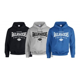 Crewe Railroaders - Custom Ball Logo Hoodie 2