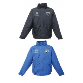 Crewe Railroaders - Embroidered Heavyweight Dover Rain Jacket