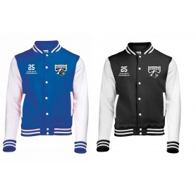 Crewe Railroaders - Embroidered Varsity Jacket
