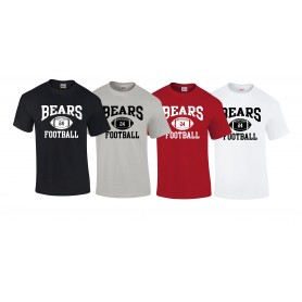 Bradford Bears - Custom Ball 1 Logo T Shirt