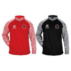 Bradford Bears - Customised Embroidered Tonal Blend Sport 1/4 Zip