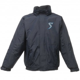 Morecambe Bay Storm - Embroidered Heavyweight Dover Rain Jacket