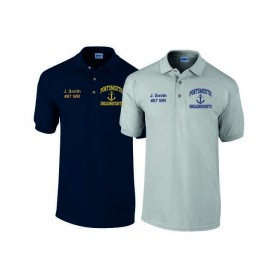 Portsmouth Dreadnoughts Women - Custom Embroidered Anchor Logo Polo Shirt