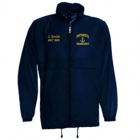 Portsmouth Dreadnoughts Women - Anchor Logo Lightweight College Rain Jacket