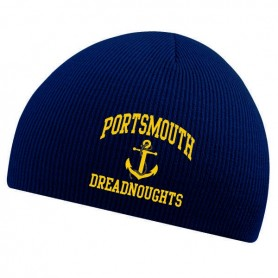 Portsmouth Dreadnoughts Women - Embroidered Anchor Logo Beanie Hat