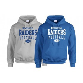 Newcastle Raiders - Custom Ball Logo 2 Hoodie