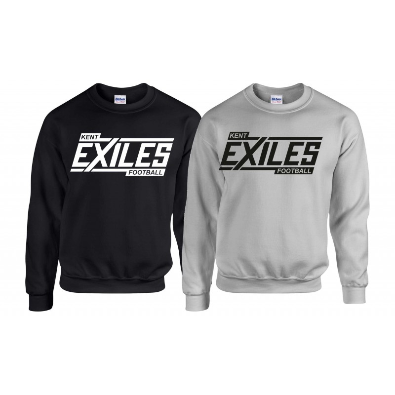 Kent Exiles - Players Block Logo Sweat Shirt