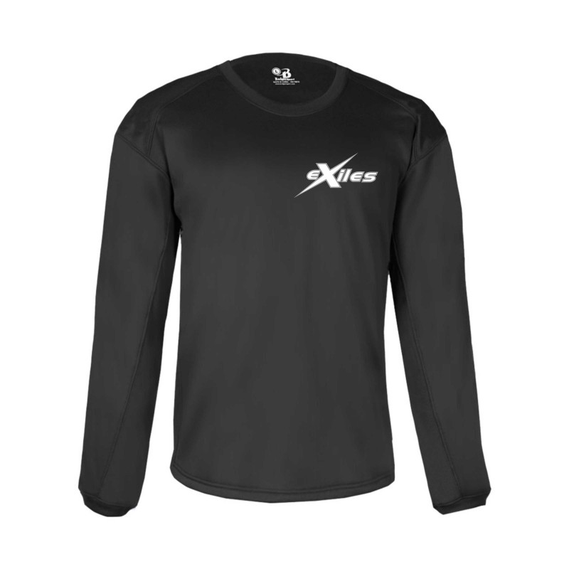 Kent Exiles - Players Embroidered Badger Poly Fleece Pullover