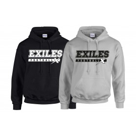 Kent Exiles - Campus Text Hoodie