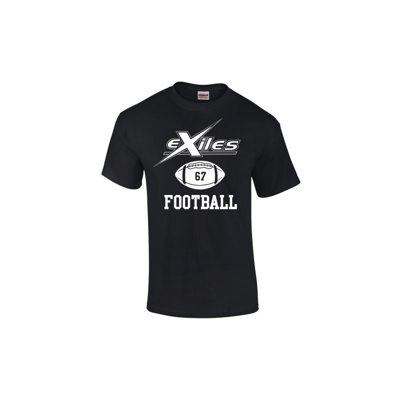 Kent Exiles - Exiles Football T Shirt