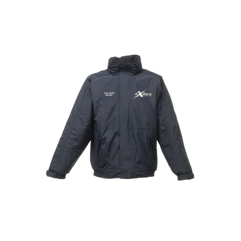 Kent Exiles - Embroidered Heavyweight Dover Rain Jacket