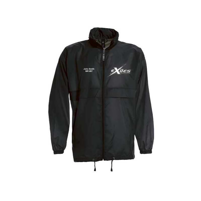 Kent Exiles - Lightweight College Rain Jacket