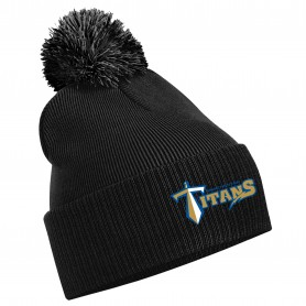 Manchester Titans - Embroidered Bobble Hat