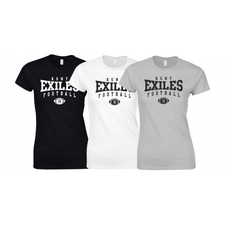 Kent Exiles - Custom Ball Logo Women's Fit T Shirt
