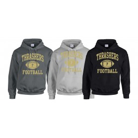 Hampshire Thrashers - Custom Ball Logo Hoodie 1
